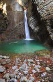 Kozjak waterfall, Kobarid, Slovenia. Kozjak waterfall near Kobarid town in Slovenia Stock Image