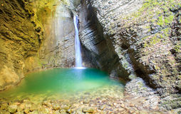 Kozjak waterfall Stock Photography