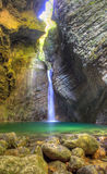 Kozjak waterfall Royalty Free Stock Photography