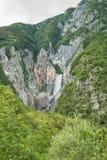 Kozjak waterfall, Slovenia Stock Photo