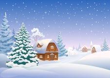 kozlovo regionu Russia wioski vladimir zima Zdjęcie Stock