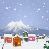 kozlovo regionu Russia wioski vladimir zima Zdjęcie Royalty Free