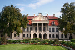 Kozlowka宫殿正面图 免版税库存照片
