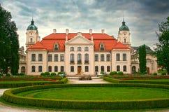 The Kozlowka Palace. Beautiful palace in Kozlowka. Poland Stock Images