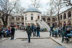 Kozy Han jedwabiu rynek w Bursaö Turcja Obraz Royalty Free