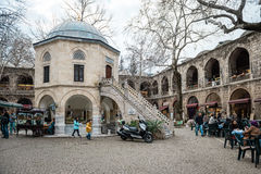 Kozy Han jedwabiu rynek w Bursaö Turcja Obrazy Royalty Free