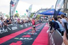 Köpenhamn Ironman 2016, Danmark Arkivfoto