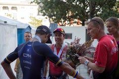 Köpenhamn Ironman 2016, Danmark Royaltyfri Fotografi