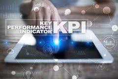 Kpi Индикатор ключевой производительности Концепция дела и технологии стоковые фото