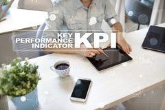 Kpi Indicador de desempenho chave Conceito do negócio e da tecnologia Fotos de Stock Royalty Free
