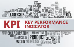 KPI | Key Performance Indicator. KPI - Key Performance Indicator | Business Abstract Concept Royalty Free Stock Photos