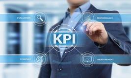 KPI Key Performance Indicator Business Internet Technology Concept Royalty Free Stock Photos