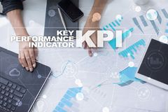 KPI. Key performance indicator. Business and technology concept. Stock Photography