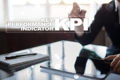 KPI. Key performance indicator. Business and technology concept. Stock Photo