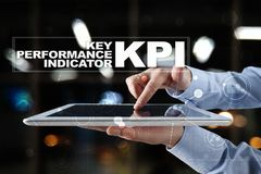 KPI. Key performance indicator. Business and technology concept. KPI. Key performance indicator. Business and technology concept Royalty Free Stock Images