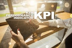 KPI. Key performance indicator. Business and technology concept. KPI. Key performance indicator. Business and technology concept Royalty Free Stock Image