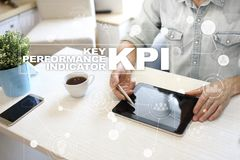 KPI. Key performance indicator. Business and technology concept. KPI. Key performance indicator. Business and technology concept Royalty Free Stock Photos