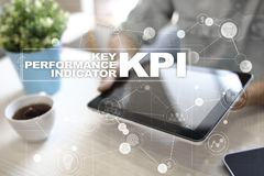 KPI. Key performance indicator. Business and technology concept. KPI. Key performance indicator. Business and technology concept Stock Photos