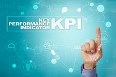 KPI. Key performance indicator. Business and technology concept. KPI. Key performance indicator. Business and technology concept Stock Images