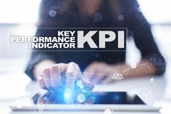 KPI. Key performance indicator. Business and technology concept. KPI. Key performance indicator. Business and technology concept Stock Photography