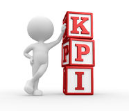 KPI ( key performance indicator ) Stock Photo