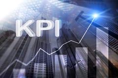 KPI - Kluczowego występu wskaźnik Biznesu i technologii pojęcie E Pieniężny pojęcie dalej ilustracja wektor