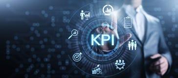 KPI Kluczowego występu wskaźnika biznesowy przemysłowy pojęcie ilustracja wektor