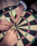 KPI und Ziel stockfoto