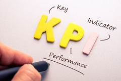 KPI Royalty Free Stock Photos