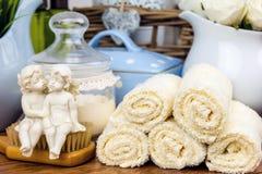 Kąpielowi akcesoria osobiste higien rzeczy Obraz Stock