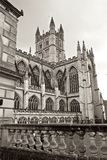 Kąpielowy opactwo kościół w mieście Kąpielowy Anglia Obrazy Royalty Free