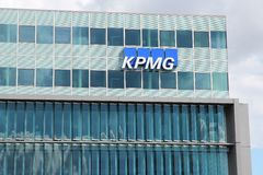 KPMG auditing company Stock Images