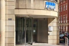 KPMG biuro Obraz Royalty Free