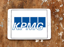 Kpmg logo Stock Photo