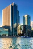 KPMG UK Head offcie in Canary Wharf Royalty Free Stock Photo