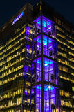 KPMG UK Head offcie in Canary Wharf Royalty Free Stock Photos