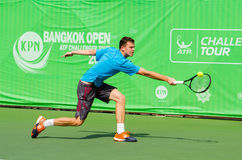 KPN曼谷开放ATP挑战者游览2016年 免版税库存图片