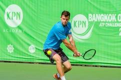 KPN曼谷开放ATP挑战者游览2016年 库存图片