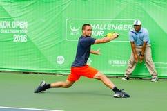 KPN曼谷开放ATP挑战者游览2016年 免版税图库摄影