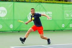 KPN曼谷开放ATP挑战者游览2016年 免版税库存照片