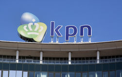 KPN telecommunications IT services telephony, internet and telev Stock Photos