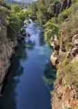 Köprülü canyon Stock Photography