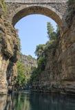 Köprülü canyon Royalty Free Stock Image