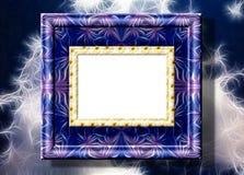 kpugloe отверстия рамки предпосылки красивейшее черное сделало по образцу фото Стоковые Изображения RF