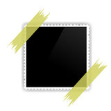 Kpugloe schwarzes Loch auf einem schönen gekopierten Hintergrund Stockfotografie