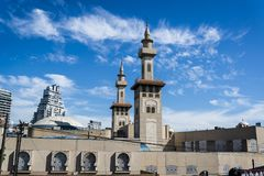 Królewiątka Fahd meczet, Buenos Aires, Argentyna obraz stock