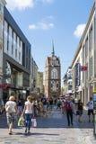 Kröpeliner Stra�e - main shopping street Rostock Stock Image