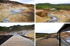 Krýsuvík - Seltún Royalty Free Stock Photography