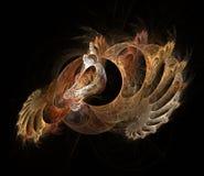 kräftdjurs fractal Arkivfoto