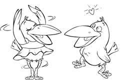 krähe Lizenzfreies Stockbild